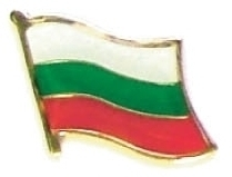 BULGARIA - Wholesale lot 12 flag hat lapel pins ef040
