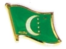 COMOROS - Wholesale lot of 12 flag hat lapel pins ef056