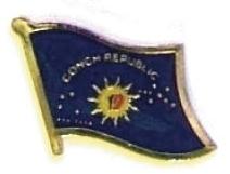 CONCH REPUBLIC - Wholesale lot 12 flag lapel pins ef054