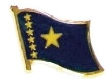 CONGO , DEM REPUBLIC - Wholesale lot 12 flag pins ef057