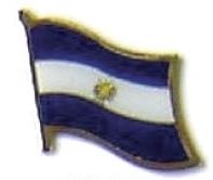 EL SALVADOR - Wholesale lot of 12 flag lapel pins ef075