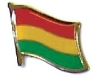 ETHIOPIA - Wholesale lot 12 flag hat lapel pins ef080