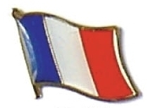 FRANCE - Wholesale lot 12 french flag lapel pins ef086