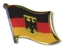 GERMANY EAGLE - Wholesale lot 12 flag lapel pins ef090