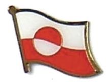GREENLAND - Wholesale lot 12 flag hat lapel pins ef095