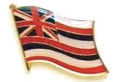 HAWAII - Wholesale lot 12 state flag lapel pins ep512
