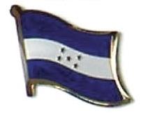 HONDURAS - Wholesale lot 12 flag hat lapel pins ef104