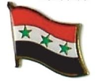 IRAQ - Wholesale lot of 12 flag hat lapel pins ef111