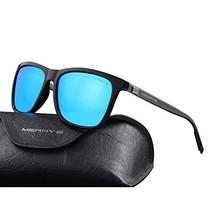 MERRY'S Unisex Polarized Aluminum Sunglasses Vintage Sun Glasses For Men/Women S