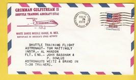 GRUMMAN GULFSTREAM SHUTTLE TRAINING TRAINING FLIGHT WSMR, NM FEBRUARY 24... - $1.78