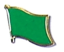 LIBYA - Wholesale lot of 12 flag hat lapel pins ef137