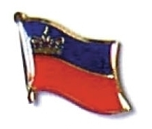 LIECHTENSTEIN - Wholesale lot 12 flag lapel pins ef138