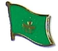 MACAU - Wholesale lot of 12 flag hat lapel pins ef141