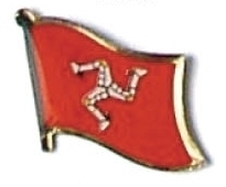 MAN - Wholesale lot 12 flag hat tac lapel pins ef115 Bonanza