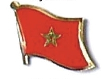 morocco - Wholesale lot of 12 flag hat lapel pins ef160