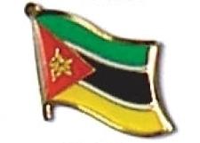 MOZAMBIQUE - Wholesale lot of 12 flag lapel pins ef161