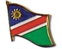 NAMIBIA - Wholesale lot of 12 flag hat lapel pins ef162