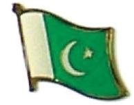 PAKISTAN - Wholesale lot 12 flag hat lapel pins ef179