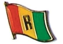RWANDA - Wholesale lot of 12 flag hat lapel pins ef196