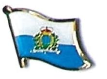 SAN MARINO - Wholesale lot of 12 flag lapel pins ef203