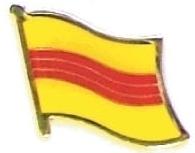 SOUTH VIETNAM - Wholesale lot 12 flag lapel pins ef254