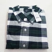 New J.Crew Men's Slim Fit Oxford Shirt Green Plaid XL J Crew NWT - $18.51