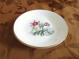 "Royal Worcester Fine China Pin Dish Fuschia Flowers England 3.75"" - $9.85"