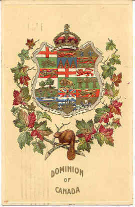 Dominion of Canada 1910 Vintage Post Card