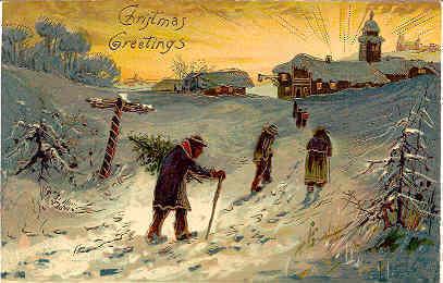 Christmas Greetings Paul Finkenrath of Berlin Post Card