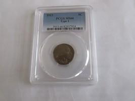 1913 , Buffalo Nickel , PCGS MS66  , Type 1 - $391.05
