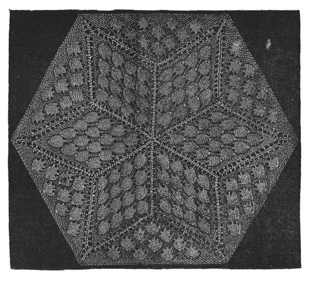 c1895 Victorian Gibson Girl Era Shawl Book Weldons Shawls Knit Patterns Lacy 29