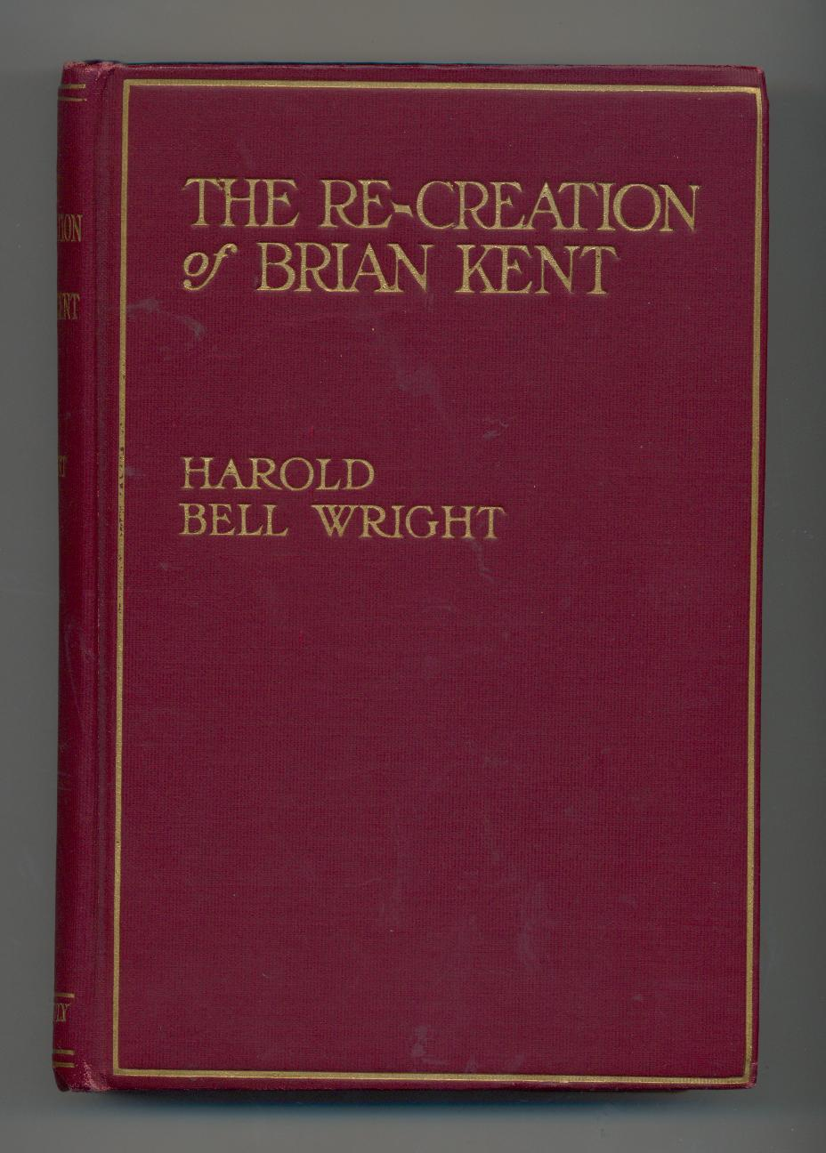 Wright--RE-CREATION OF BRIAN KENT--1919, 1st in dj image 2