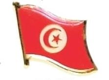 TUNISIA - Wholesale lot of 12 flag hat lapel pins ef236