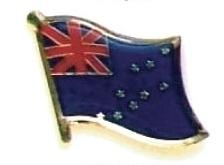 TUVALU - Wholesale lot of 12 flag hat lapel pins ef240
