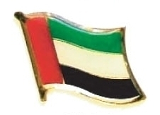 UAE United Arab Emirates - lot 12 flag lapel pins ef243