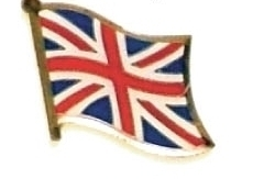 UNITED KINGDOM - Wholesale 12 flag uk lapel pins ef244