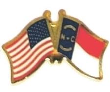 US NORTH CAROLINA - 12 state flag friendship pins ec534