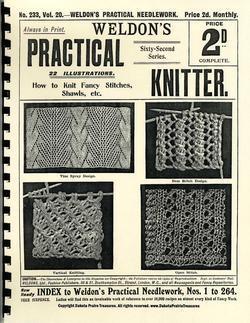 c1900 Victorian Gibson Girl Era Shawl Book Weldons Shawls Knit Patterns Lacy 2