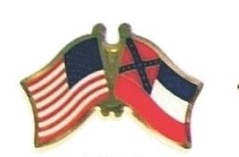 USA / MISSISSIPPI - 12 state flag friendship pins ec525 - $18.00