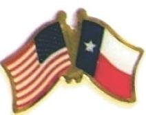 USA / TEXAS - Lot 12 state flag friendship pins ec544