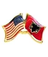 USA ALBANIA - 12 WORLD FLAG FRIENDSHIP LAPEL PINS ec003 - $18.00