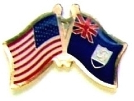 Usa Anguilla - 12 World Flag Friendship Hat Pins ec008 - $18.00
