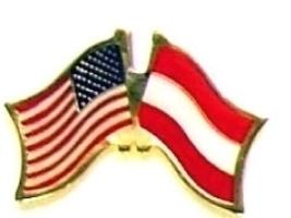 USA AUSTRIA - 12 WORLD FLAG FRIENDSHIP LAPEL PINS ec017 - $18.00