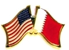 USA BAHRAIN - 12 WORLD FLAG FRIENDSHIP LAPEL PINS ec021