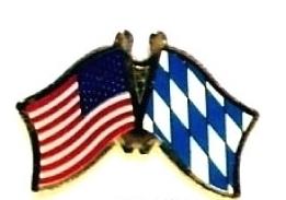 USA BAVARIA - 12 WORLD FLAG FRIENDSHIP LAPEL PINS ec025