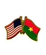 USA BURKINA FASO - 12 WORLD FLAG FRIENDSHIP PINS ec041 - $18.00