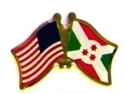 USA BURUNDI - 12 WORLD FLAG FRIENDSHIP LAPEL PINS ec043