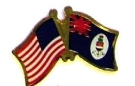 USA CAYMAN ISLANDS 12 WORLD FLAG FRIENDSHIP PINS ec048