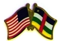 USA CENTRAL AFRICAN 12 WORLD FLAG FRIENDSHIP PINS ec049