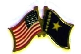 USA CONGO DEM REP - 12 WORLD FLAG FRIENDSHIP PINS ec057